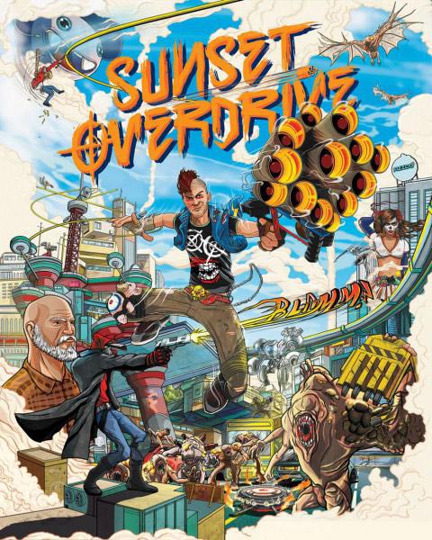 Sunset Overdrive, Xbox Live Gold üyelerine belirli bir süreliğine ücretsiz!
