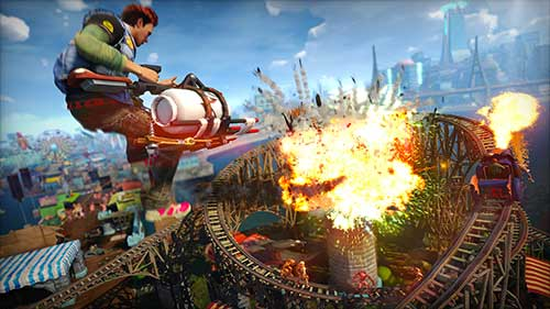 Sunset Overdrive %50 indirime girdi