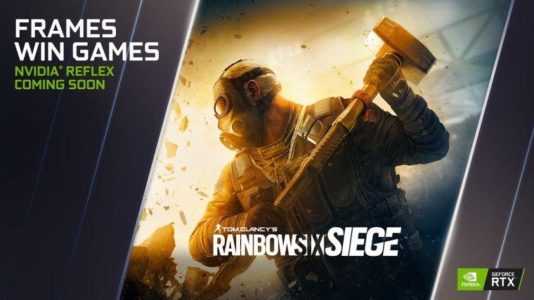 Rainbow Six Siege'e NVidia Reflex desteği geliyor