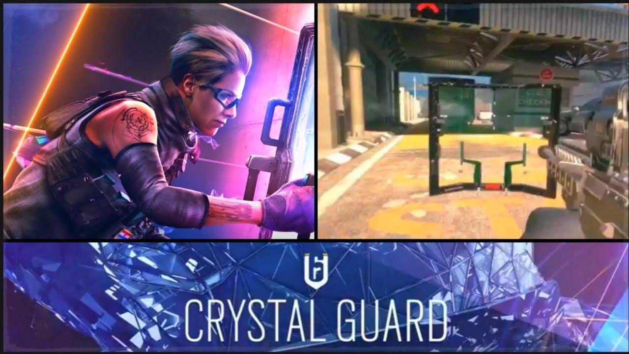 Crystal Guard Rainbow Six: Siege için çıktı
