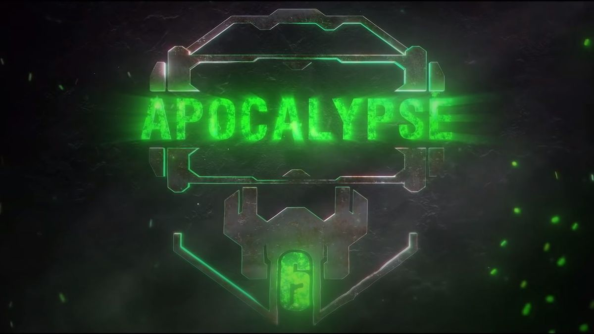 Rainbow Six: Siege Apocalypse event has started