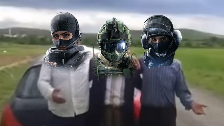 Rainbow Six Siege IQ, Fuze, Twitch meme