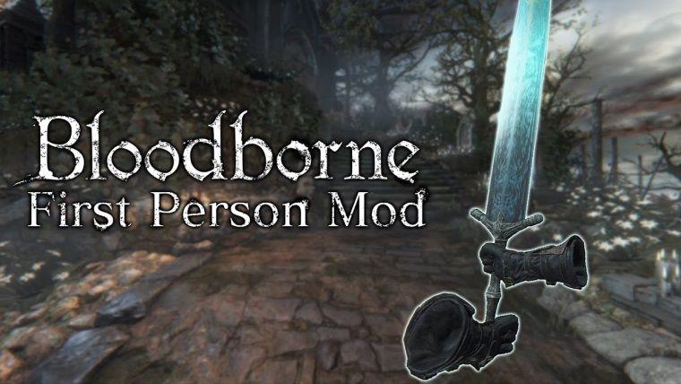 Bloodborne FPS modu nasıl gözüküyor?