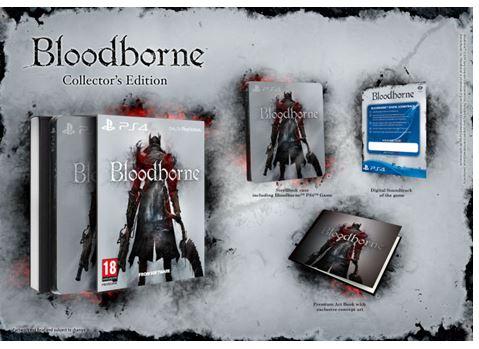 Bloodborne'un koleksiyoncu sürümleri ortaya çıktı