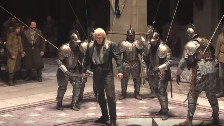 The Witcher dizisinin aksiyon sahneleri böyle çekilmiş