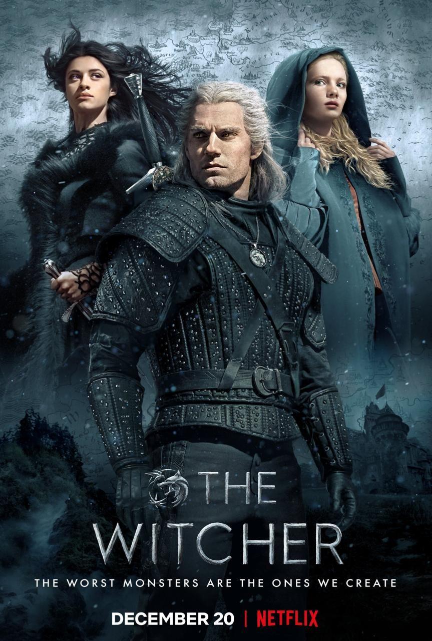 The Witcher dizisi için yeni bir poster yayınlandı