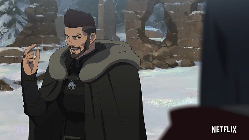 Witcher anime filmi Nightmare of the Wolf, Netflix'te yayımlandı
