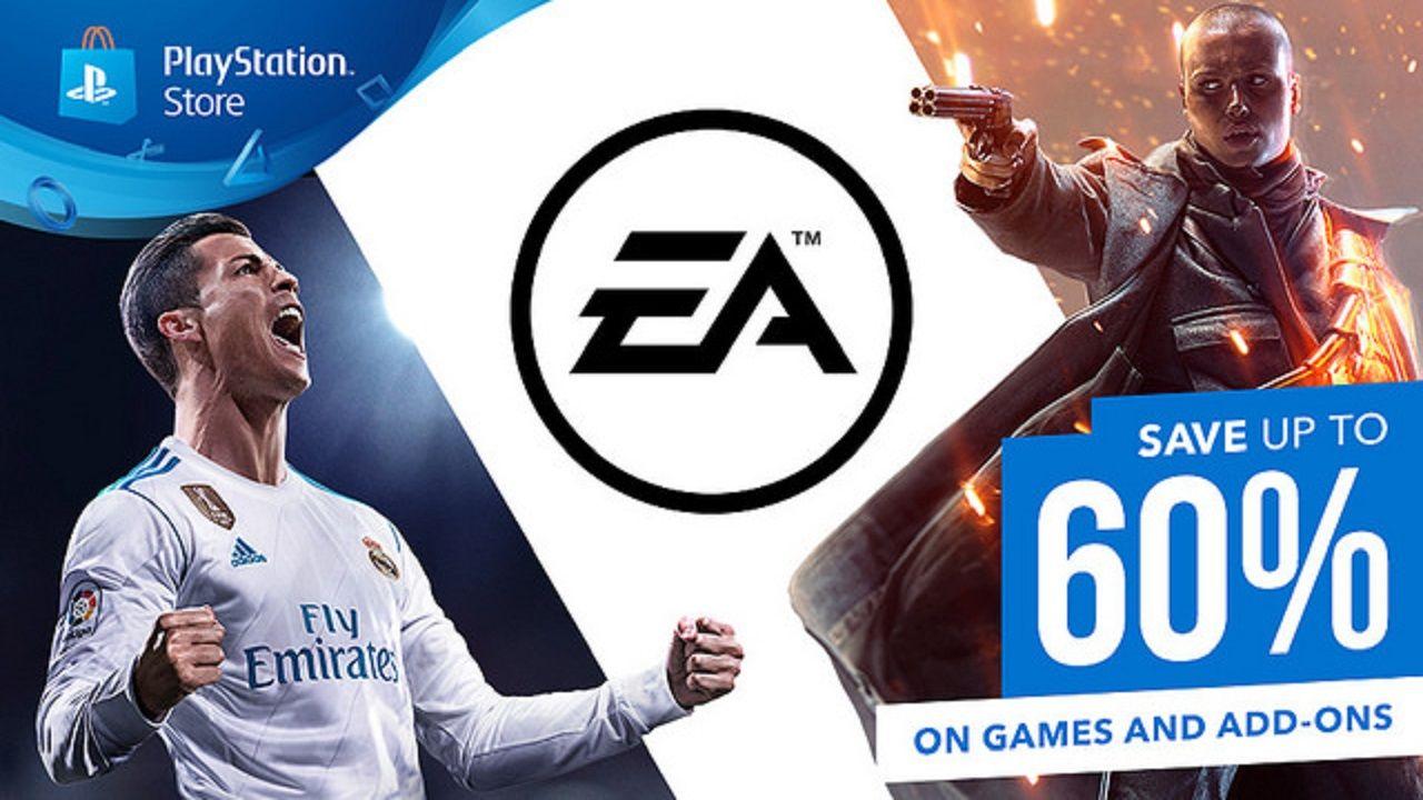 EA oyunları PlayStation Store üzerinde büyük indirime girdi