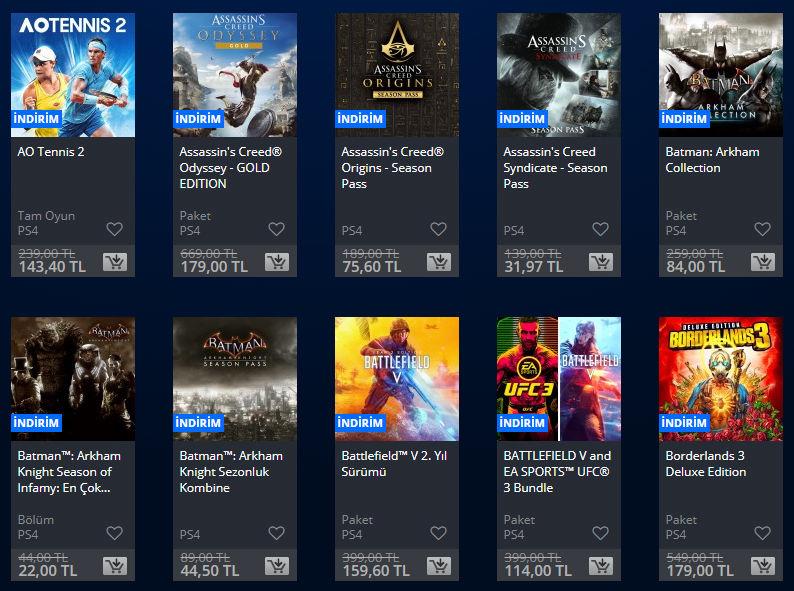 PlayStation Store için yeni indirimler başladı