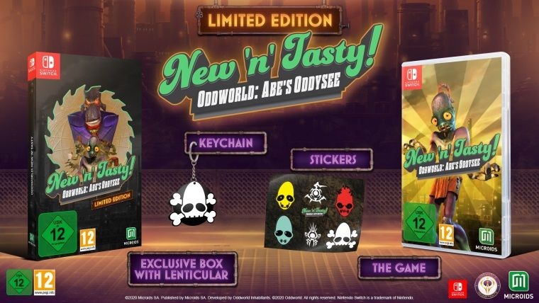 Oddworld: New 'n' Tasty! Nintendo Switch'e geliyor