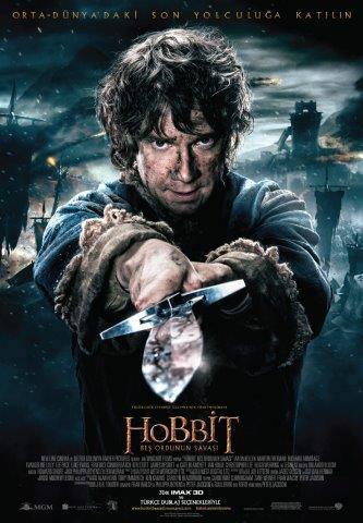 Hobbit: Beş Ordunun Savaşı 17 Aralık'ta sinemalarda!