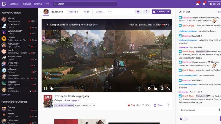 Twitch'te sadece abonelerin izleyebileceği yayınlar başlıyor