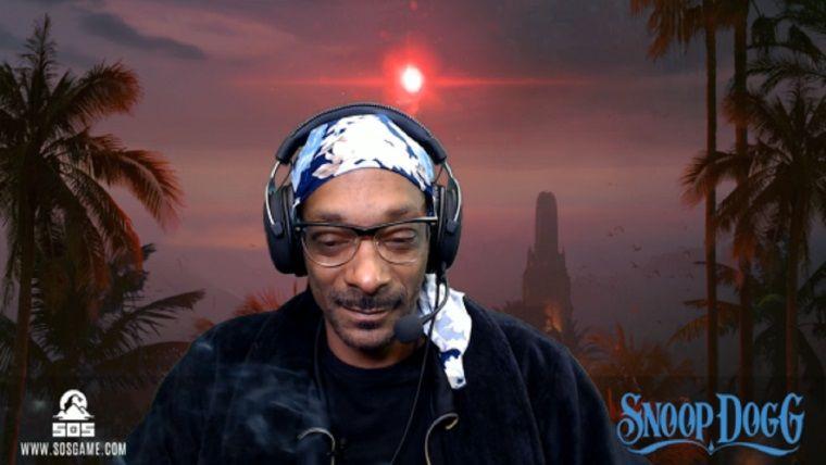 Snoop Dogg, Marihuana'lı Twitch yayını yaptı
