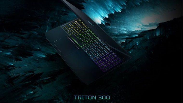 Acer'dan Triton 300 oyuncu bilgisayarı ve Thronos Air oyuncu koltuğu