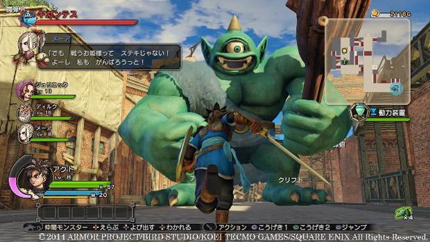 Dragon Quest Heroes için yeni ekran görüntüleri yayınlandı