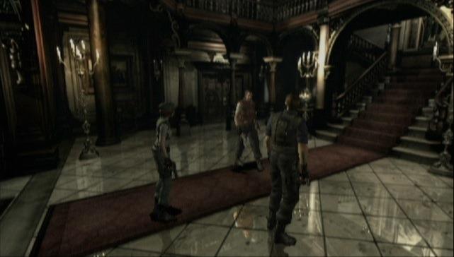Resident Evil HD için grafik karşılaştırması yapıldı