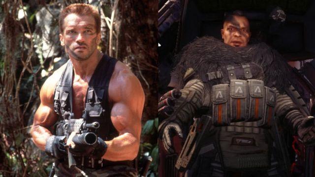 Titanfall 2'de Arnold Schwarzenegger esintileri