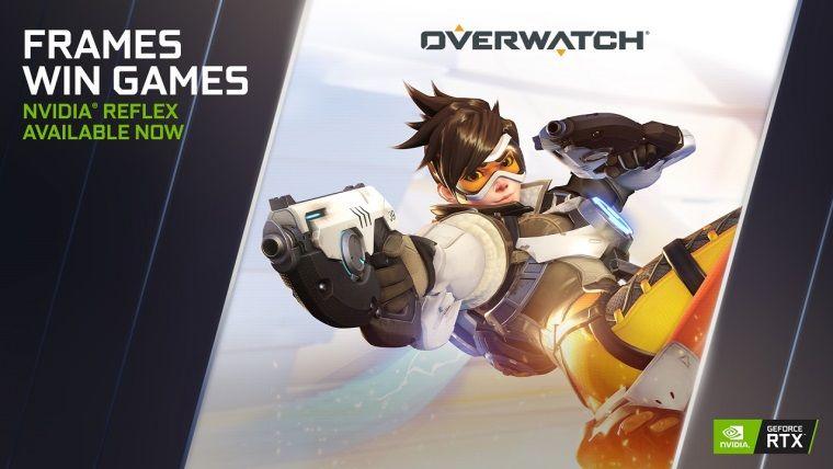 Overwatch NVidia Reflex desteğine kavuşuyor