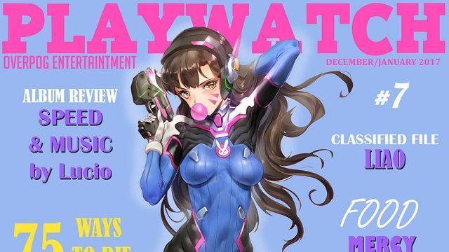"""Overwatch: Hayran yapımı Playboy dergisi """"Playwatch"""" kapatıldı"""