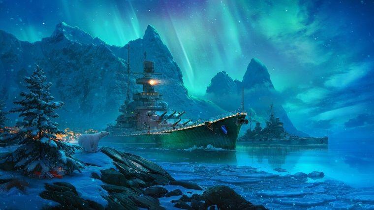 World of Warships'te yılbaşı etkinlikleri başlıyor
