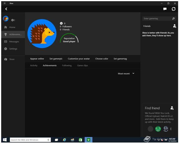 Windows 10 için Xbox uygulaması geliyor