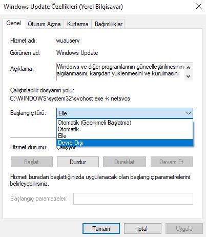 Windows 10'un Otomatik Güncellemesi Ayarlardan Nasıl Kapatılır?