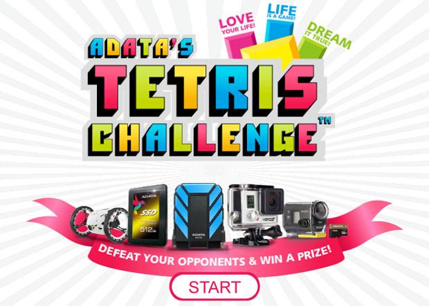 ADATA'dan ödüllü Tetris yarışması!