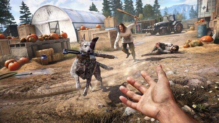 Far Cry 5, kendi içerisinde tarihi bir rekora imza attı