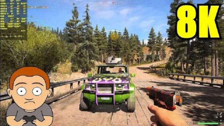Far Cry 5'in 8K'da nasıl gözüktüğünü merak ediyor musunuz?