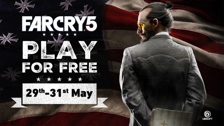 Bu hafta sonu Far Cry 5 Uplay'de oynaması ücretsiz