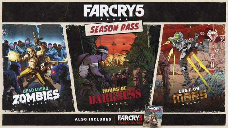 Far Cry 5'in Season Pass içerikleri oyundan daha zevkli