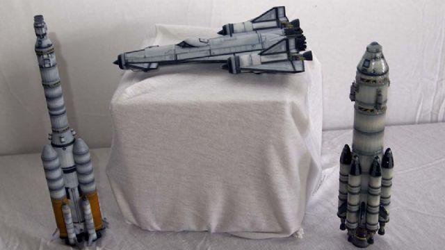 Kendi uzay geminizi tasarlamak ister misiniz?
