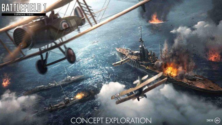 Battlefield 1: Turning Tides ek paketi beraberinde neler getiriyor?
