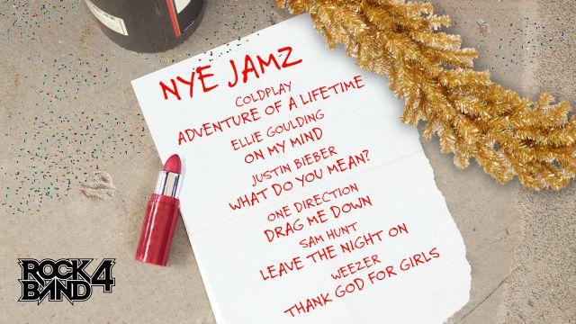 Rock Band 4'a yılbaşına özel müzikler geldi
