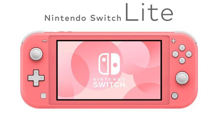 Mercan rengi Nintendo Switch Lite, Avrupa'ya geliyor