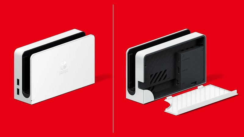 Nintendo'nun yeni dock modeli OLED sürümünden ayrı alınabilecek