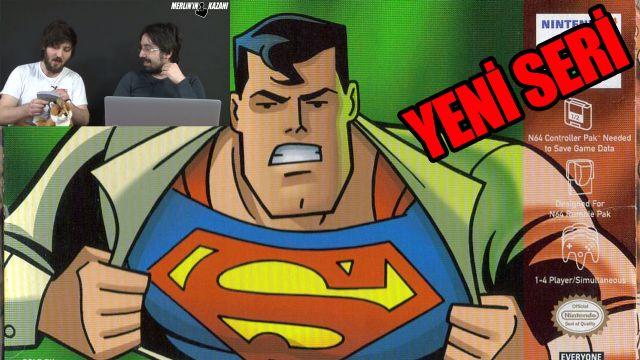 ÇÖP KUTUSU #1 SUPERMAN 64