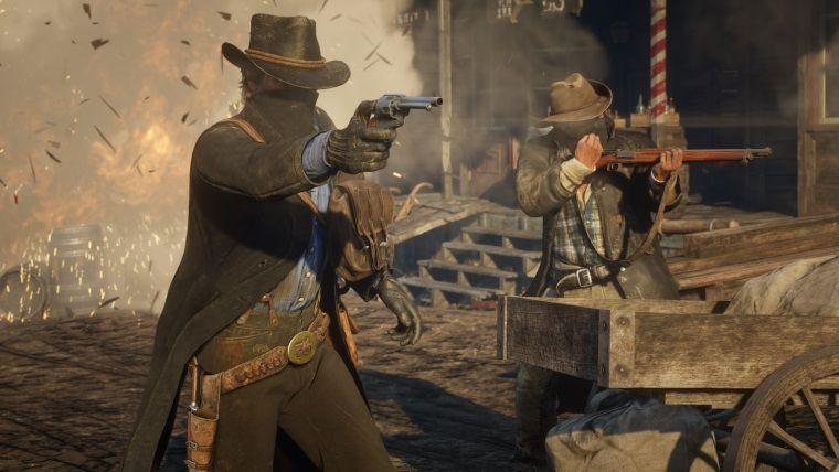 RDR 2'nin çatışma ve silah mekanikleri Max Payne'e benzeyebilir