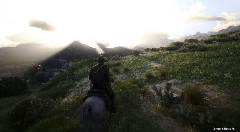 Red Dead Redemption 2 8K Ultra ve modlar ile nasıl gözüküyor?