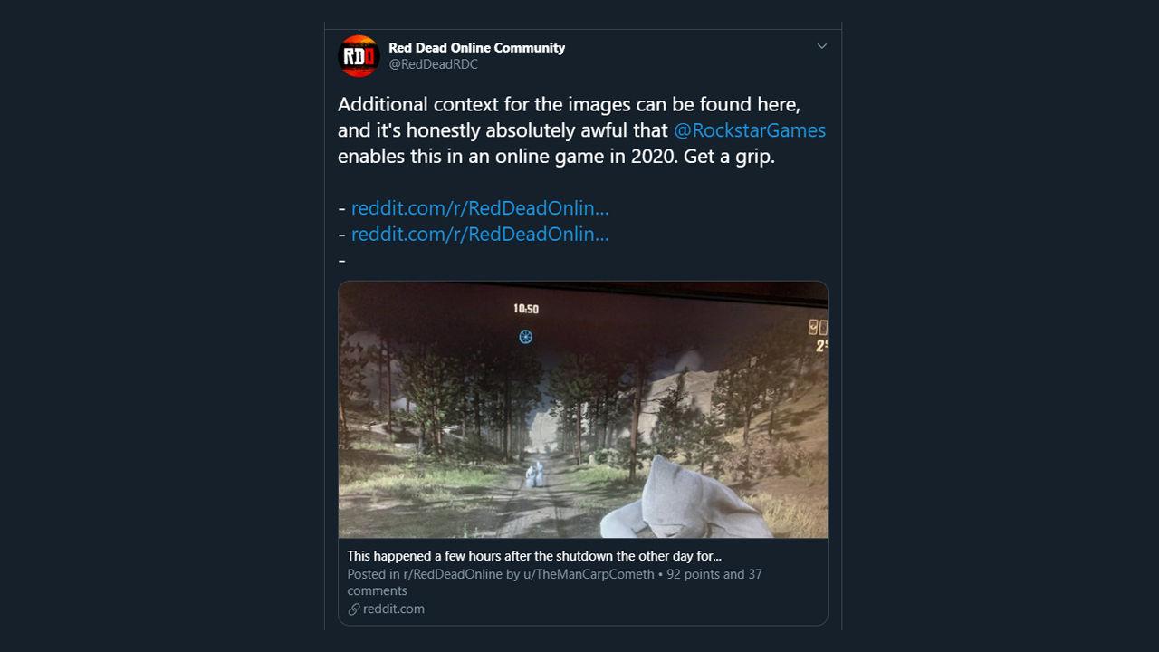 Red Dead Online modlanmış KKK karakterlerini kaldırıyor