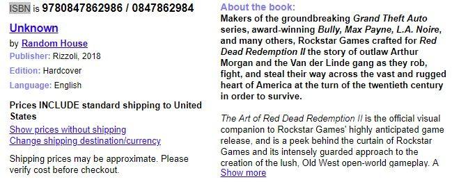 Red Dead Redemption 2'ye ait olan sanat kitabı sızdırıldı