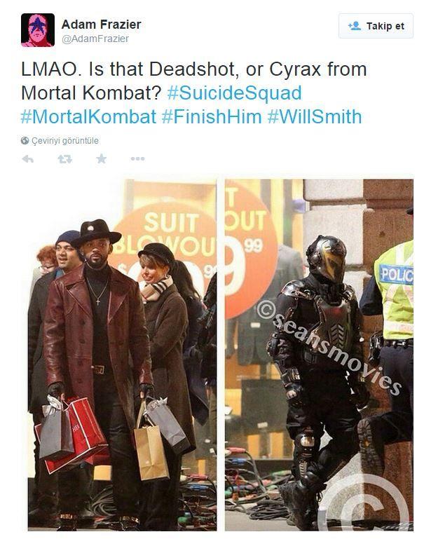 Joker'in ardından şimdi de Will Smith/Deadshot zamanı!