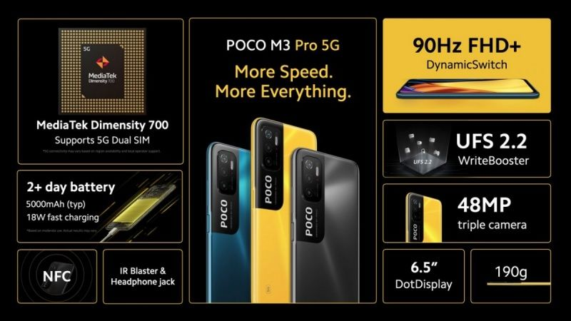 POCO M3 Pro 5G tanıtıldı