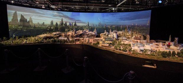 Star Wars Land görücüye çıktı