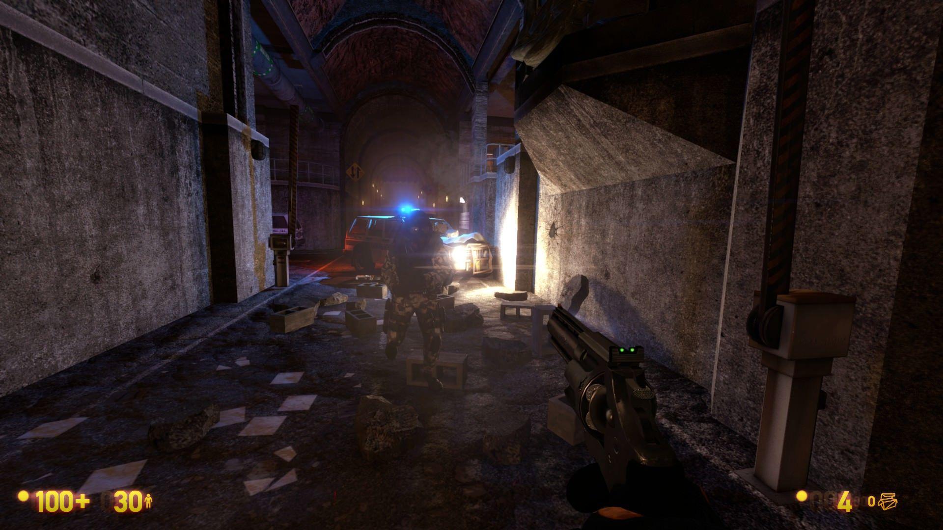 Black Mesa, yayınlanan güncelleme ile grafiksel anlamda değişti
