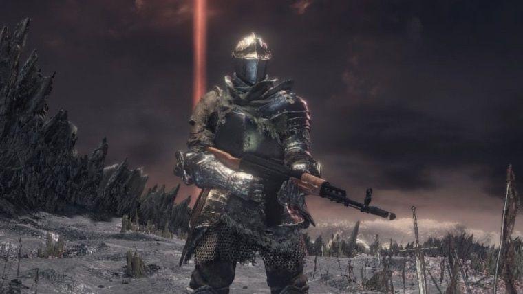 Dark Souls 3 modu oyuna AK47 ve M16 gibi silahlar ekliyor
