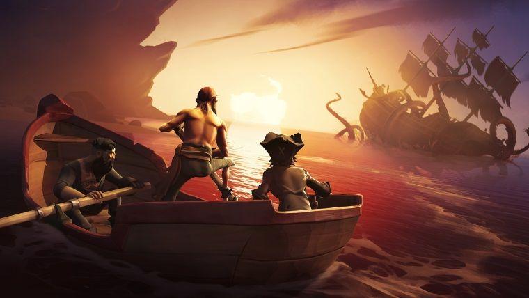 Sea of Thieves oynuyoruz!