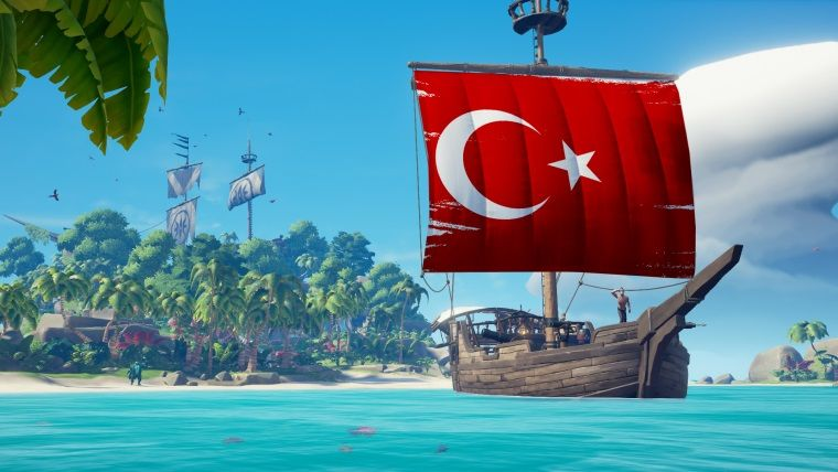 Sea of Thieves Türkçe dil desteğine kavuştu