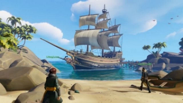 Sea of Thieves'in E3 videosu geldi