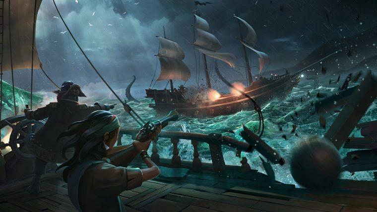 Sea of Thieves'in açık dünyasını anlatan yeni bir video yayınlandı
